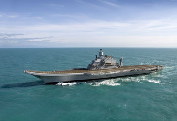 INS Vikramaditya Indian Navy