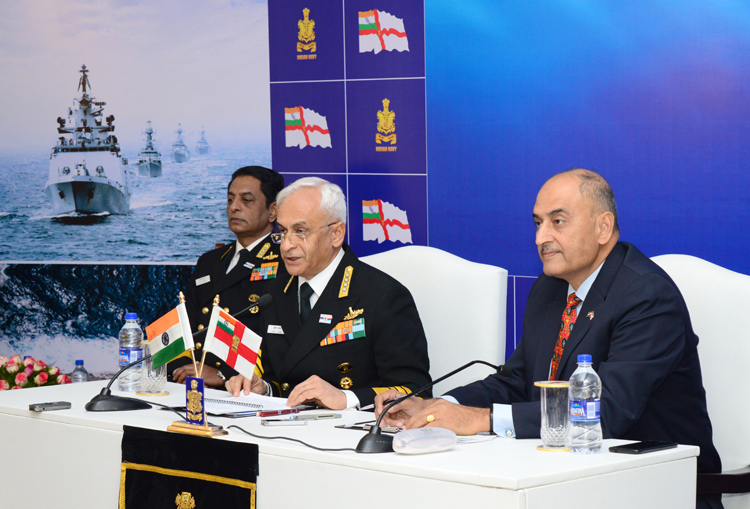Admiral Sunil Lanba Chief of the Naval Staff