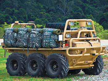 Squad Mission Support System, largest ever UGV deployed with